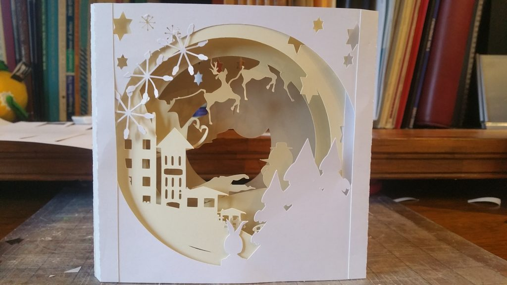 Christmas Shadowbox card
