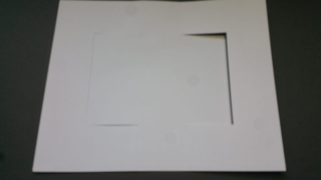 card base cut out