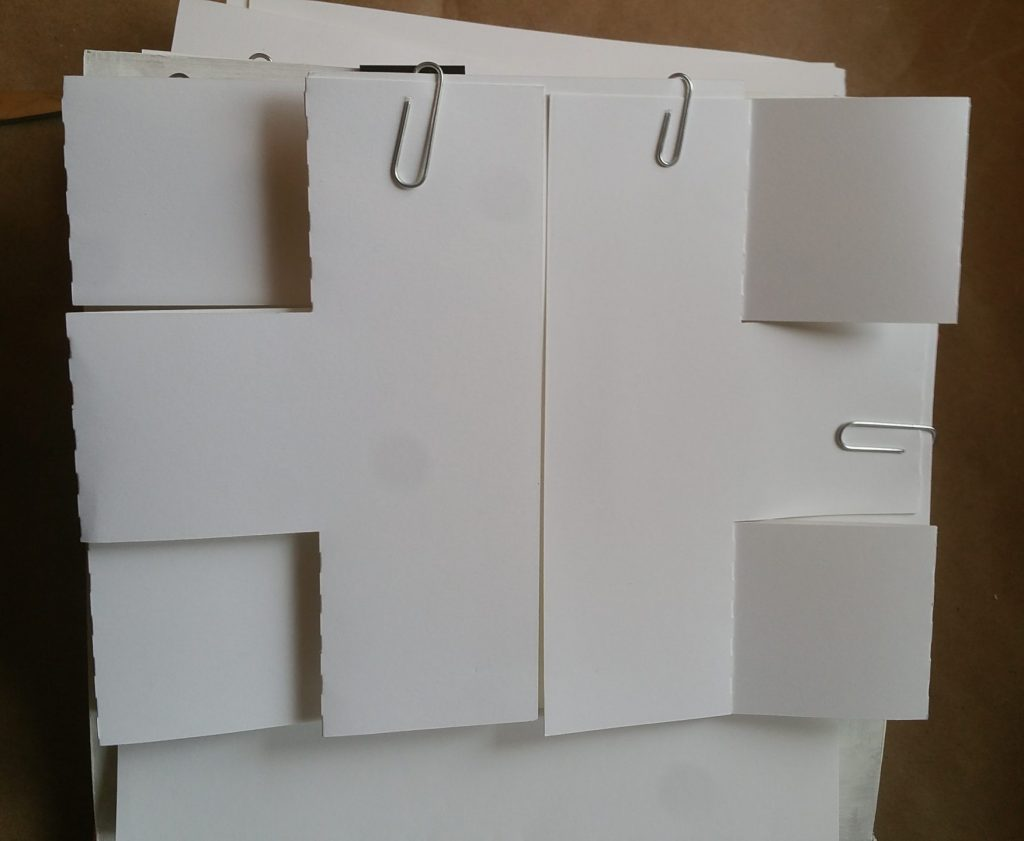 double trifold page