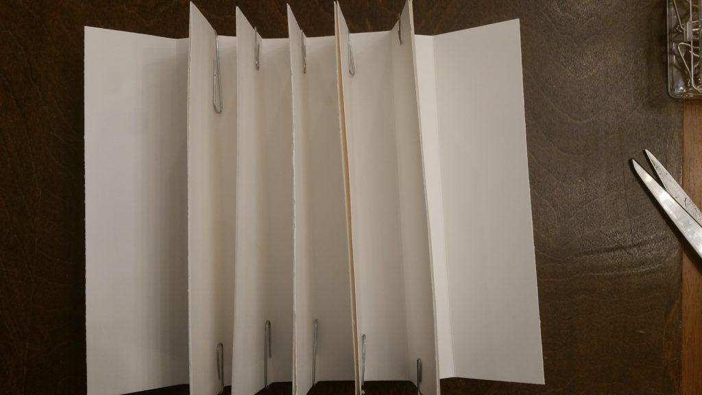 binding glued together